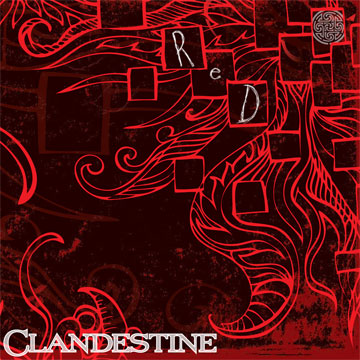Clandestine, Red CD cover