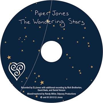 Piper Jones, The Wandering Stars CD