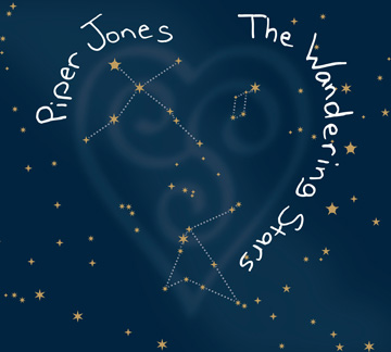 Piper Jones, The Wandering Stars CD cover