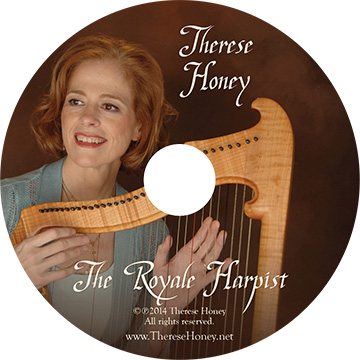 Therese Honey, The Royale Harpist CD
