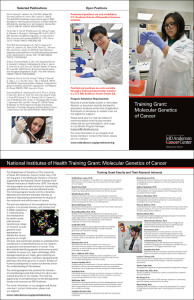 Training Grant trifold brochure