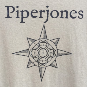Piper Jones 2012 tour t-shirt, front