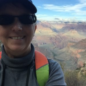 Grand Canyon – selfies are not my strong suit