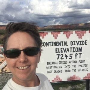 Continental Divide in New Mexico