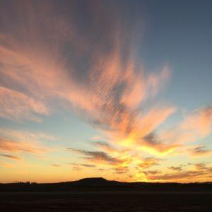 Sunset near Amarillo TX