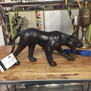 Panther in a Portland antique shop