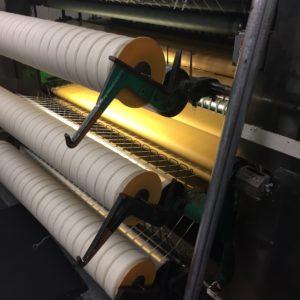 Pendleton Woolen Mills – undyed wool yarn freshly spun
