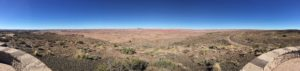 Petrified Forest panoramic – I tried to get a 270° view on this one